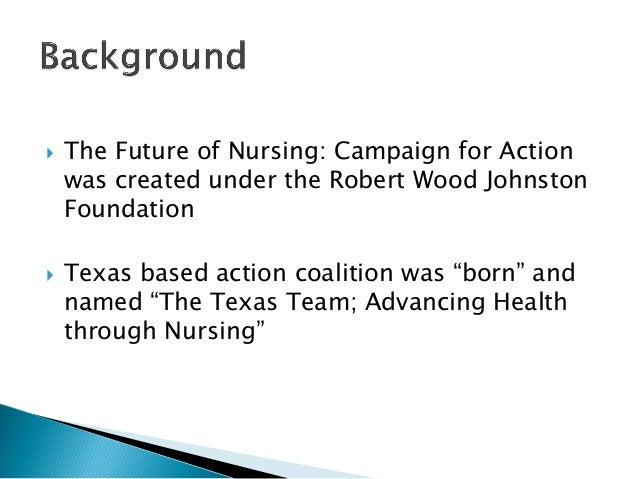 iom report future nursing