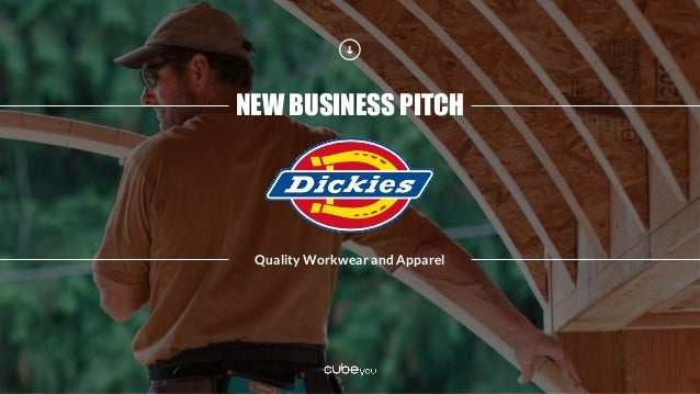NEW BUSINESS PITCH Quality Workwear and Apparel