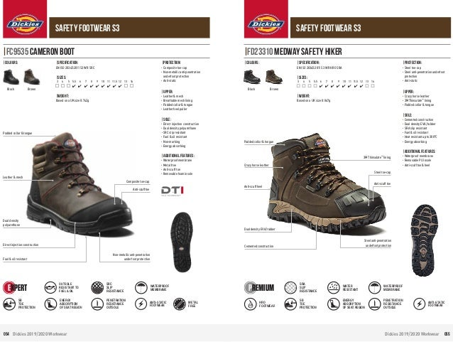 Dickies Cameron Safety Steel Toe Boot FC9535 HONEY