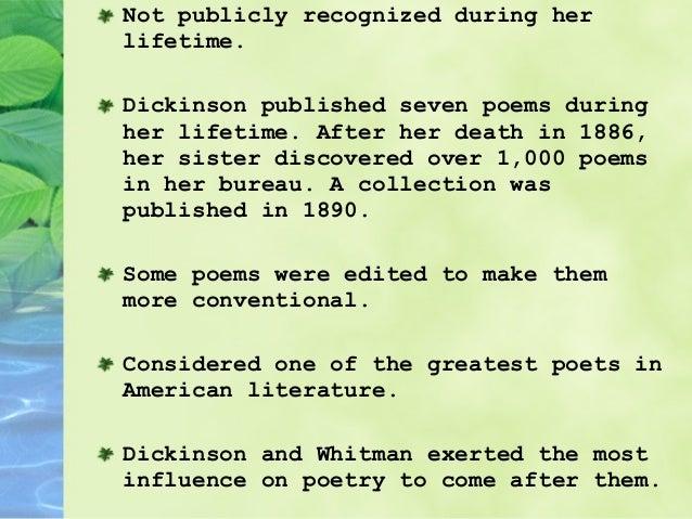 emily dickinson funeral poem