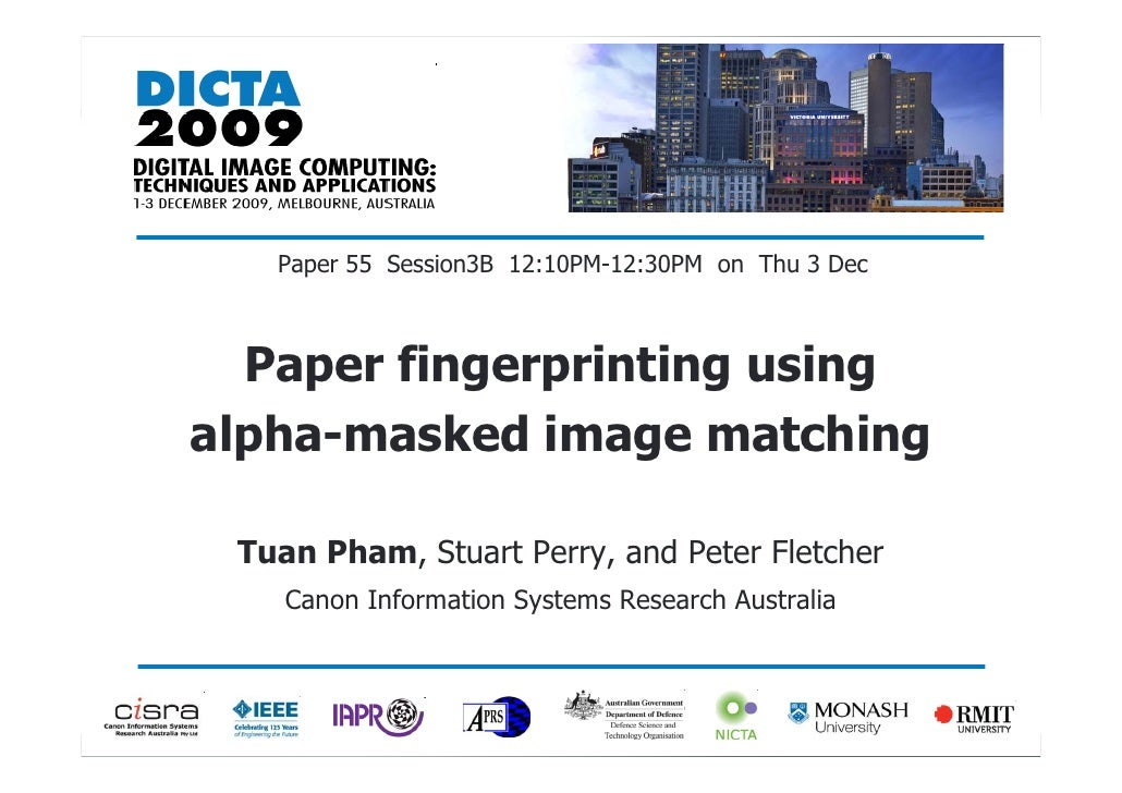 thesis on fingerprint matching Fingerprint verification systems consist of different modules including fingerprint sensing element, preprocessing and feature extraction module and matching module among others the growing market of small-size and low-cost acquisition devices are allowing the implementation of fingerprint sensor in a wide range of applications such as.