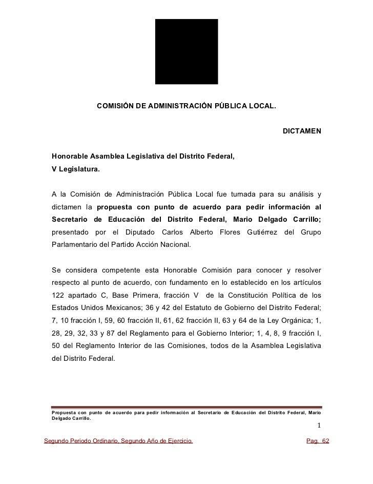 COMISIÓN DE ADMINISTRACIÓN PÚBLICA LOCAL.                                                                                 ...