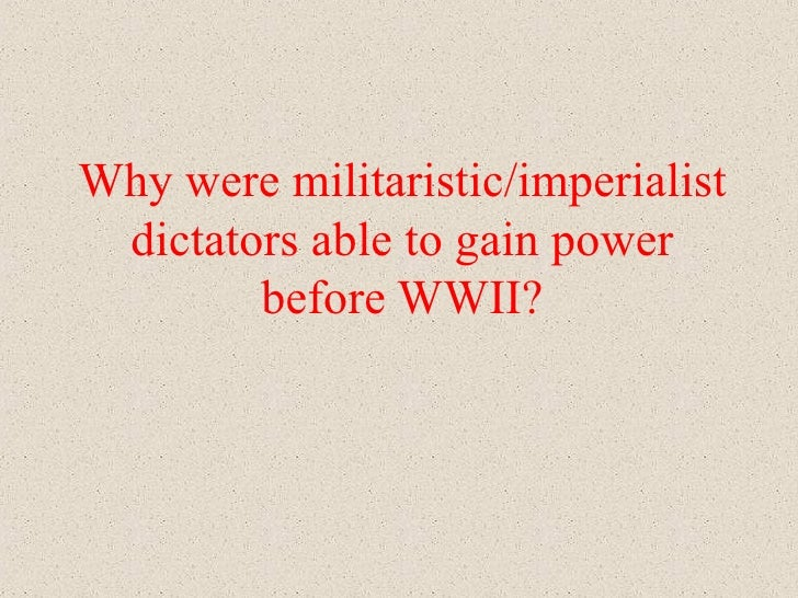 explain why mussolini was able to Benito mussolini (1883-1945) over the course of his lifetime went from socialism   the materialist conception of history of human civilization can be explained.