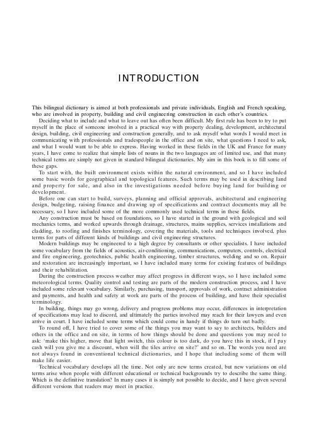 Dictionnaire genie civil anglais francais pdf