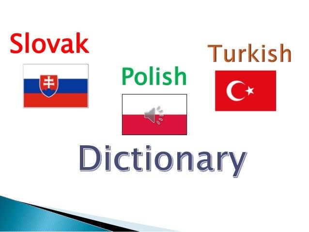 Slovak  Polish
