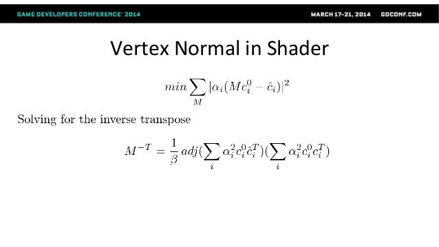 Magic 4 ● why 4 weights is too few to generate smooth weights ● 4 vertices specifies an affine transform exactly. ● simpli...