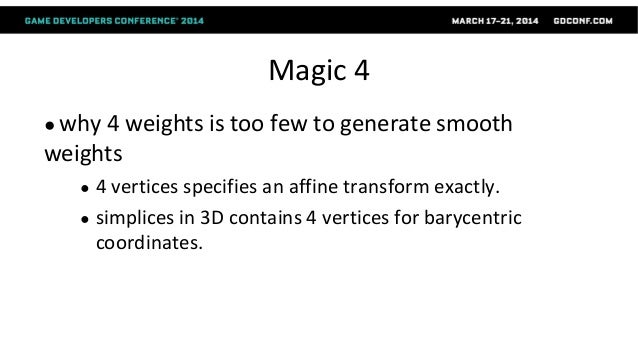Two-LayerSparseCompressionof Dense-WeightBlendSkinning BinhLe and ZhigangDeng SIGGRAPH2013