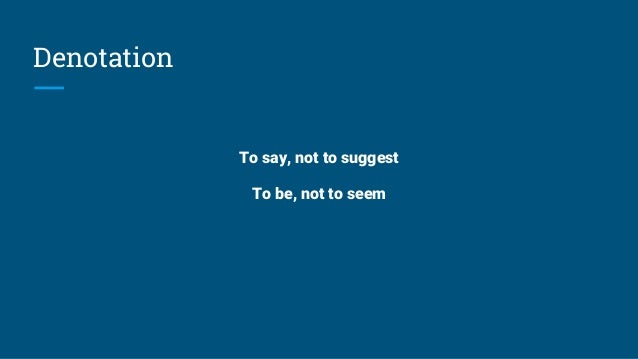 Diction, denotation & connotation Slide 2
