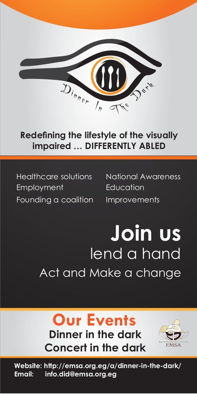 ar  ner  D  Di n  k  In T h e  Redefining the lifestyle of the visually impaired … DIFFERENTLY ABLED Healthcare solutions E...