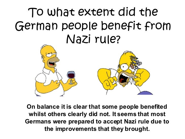 Impact of Nazi Rule on German Citizens Essay Sample