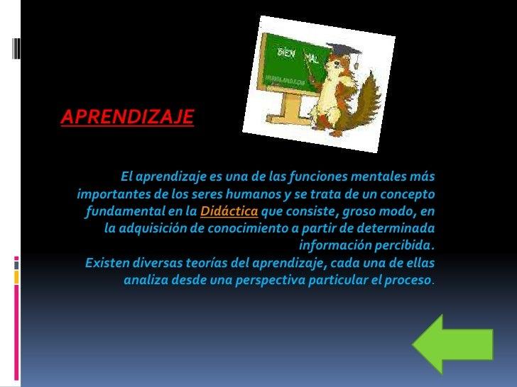 ENSEÑANZA Es el sistema y método de dar instrucción.                               Conjunto de    conocimientos, principio...