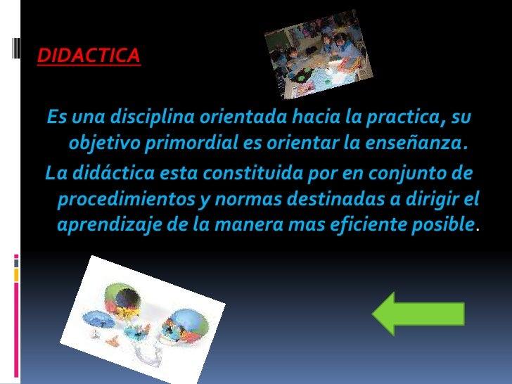 Determinar los fines y los objetivos de las enseñanza
