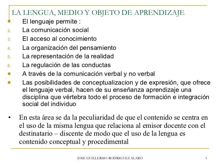 Didactica De La Lengua Y La Literatura Slide 3