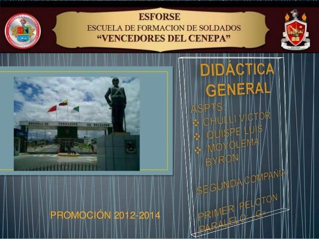 PROMOCIÓN 2012-2014
