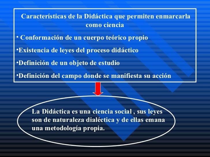 Didactica y caracteristicas Slide 2