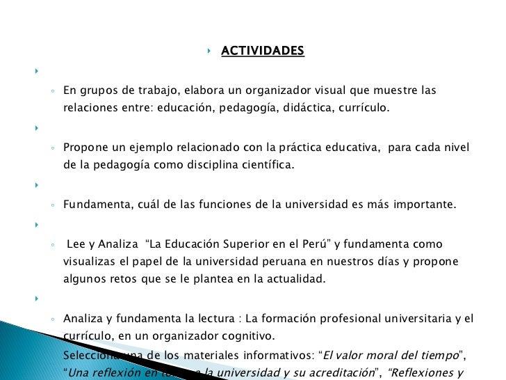 Didactica y metodologia universitaria