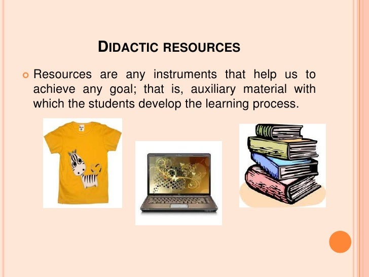 Didactic Resources