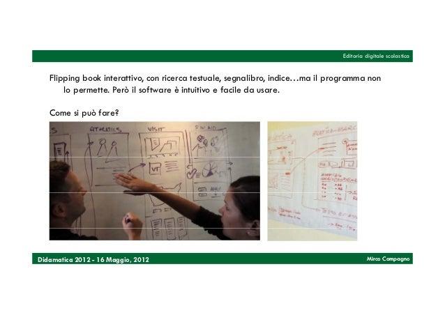 Editoria digitale scolastica   Flipping book interattivo, con ricerca testuale, segnalibro, indice…ma il programma non    ...