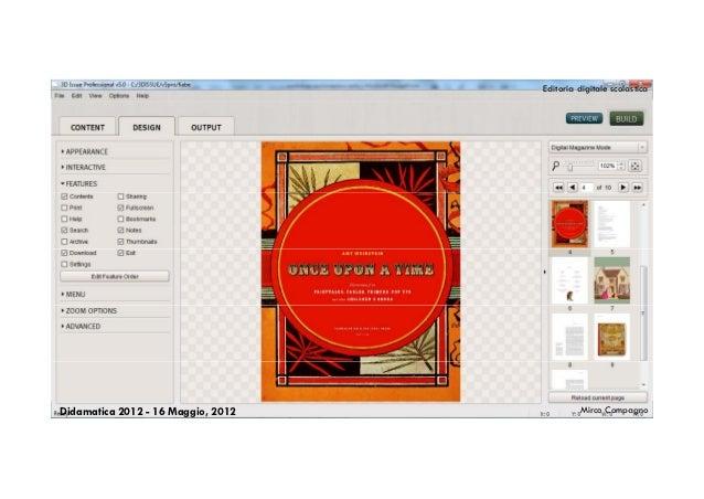 Editoria digitale scolasticaDidamatica 2012 - 16 Maggio, 2012            Mirco Compagno