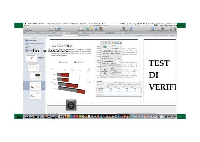 Editoria digitale scolastica          Inserimento grafici-2Didamatica 2012 - 16 Maggio, 2012            Mirco Compagno