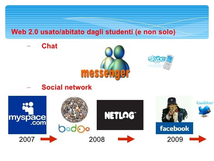 Didattica e Social Network Slide 3