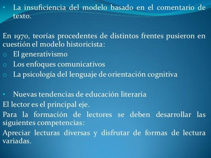  La programación literariao  La formación lectoraDefinir el espacio al que va dirigida la selección.El mediador ha de ten...