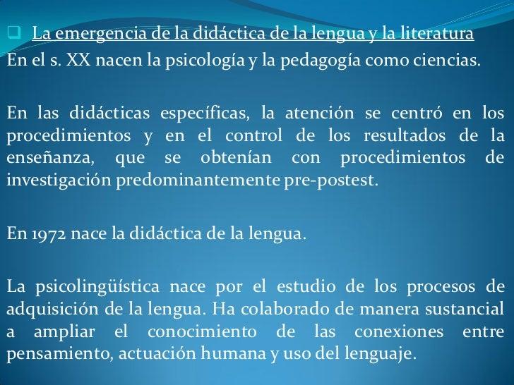  El objeto de la didáctica de la lengua y la literatura: el   sistema didácticoEl objeto primero de la investigación y el...