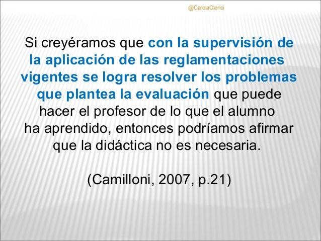 @CarolaClericiSi creyéramos que con la supervisión de la aplicación de las reglamentacionesvigentes se logra resolver los ...