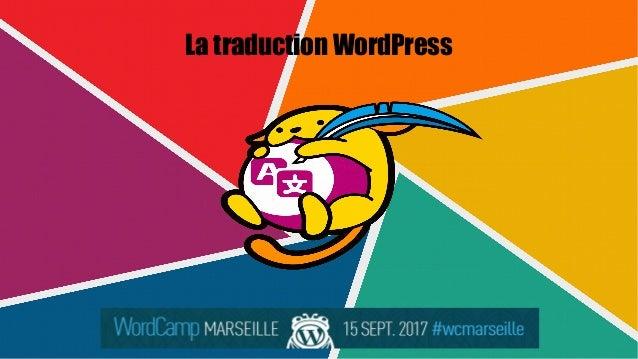 La traduction WordPress