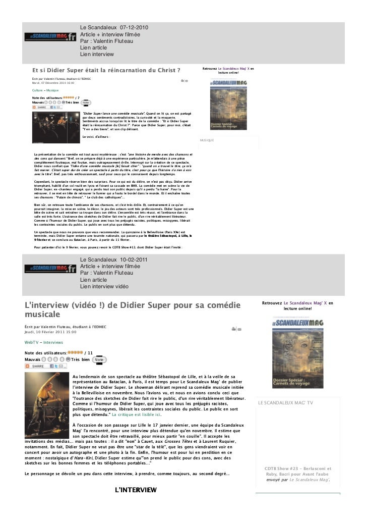 Didier super-2010-2011-dossierdepresse ld