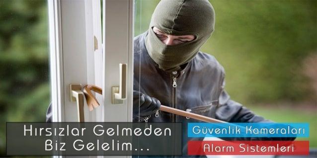 Güvenlik Kamera Alarm Sistemleri