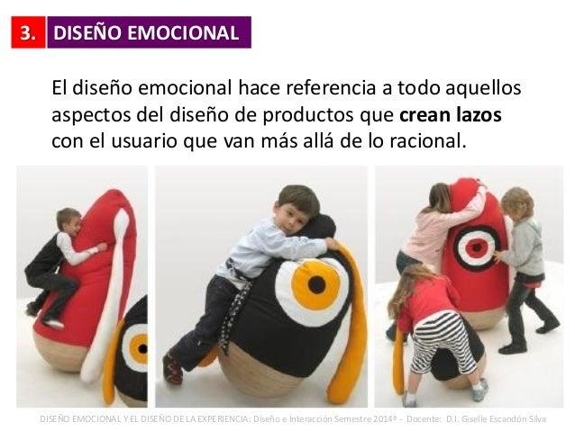 3. El diseño emocional hace referencia a todo aquellos aspectos del diseño de productos que crean lazos con el usuario que...