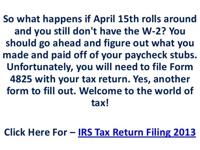 Get The Full Information Of W 2 Tax Forms