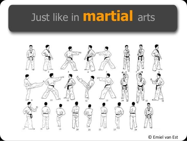 © Emiel van Est Just like in martial arts