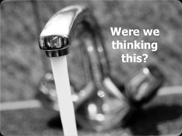 © Emiel van Est Were we thinking this?