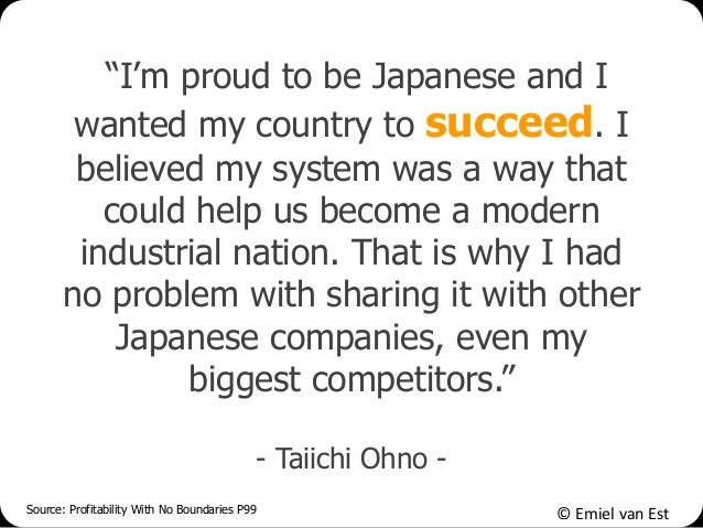 """© Emiel van Est """"I'm proud to be Japanese and I wanted my country to succeed. I believed my system was a way that could he..."""