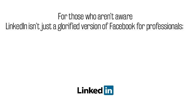 Did you know that LinkedIn