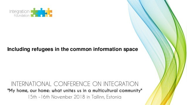 Including refugees in the common information space