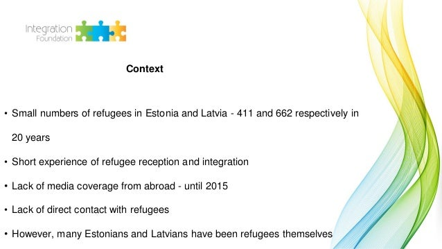 Didzis Melbiksis: Including refugees in the common information space Slide 2