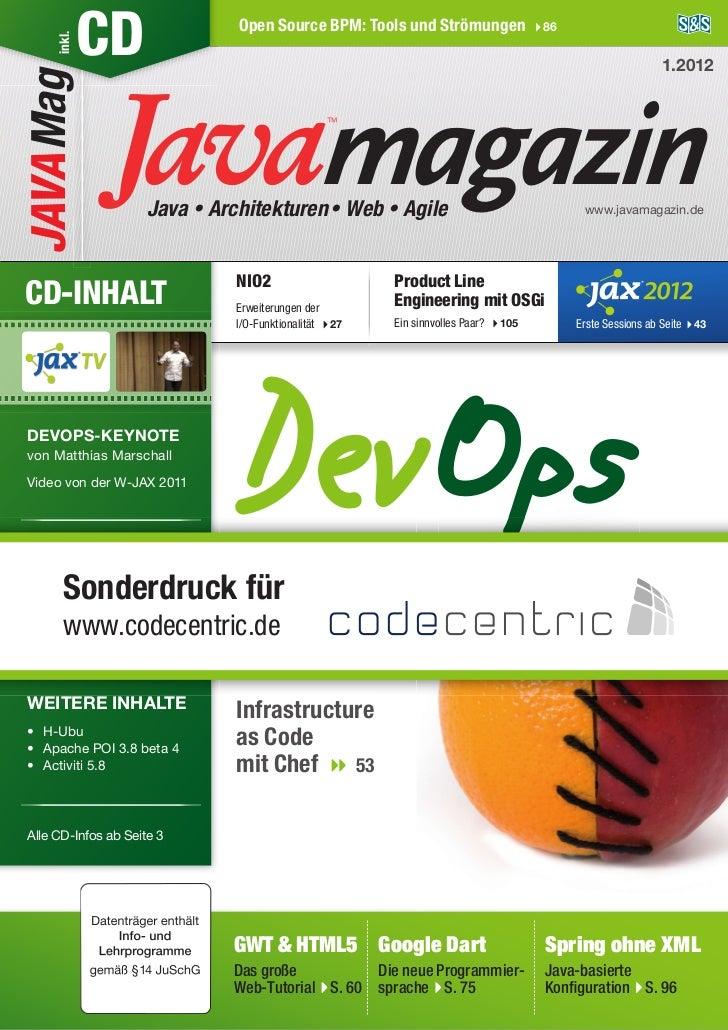 inkl.JAVA Mag      CD                Open Source BPM: Tools und Strömungen                     86                         ...