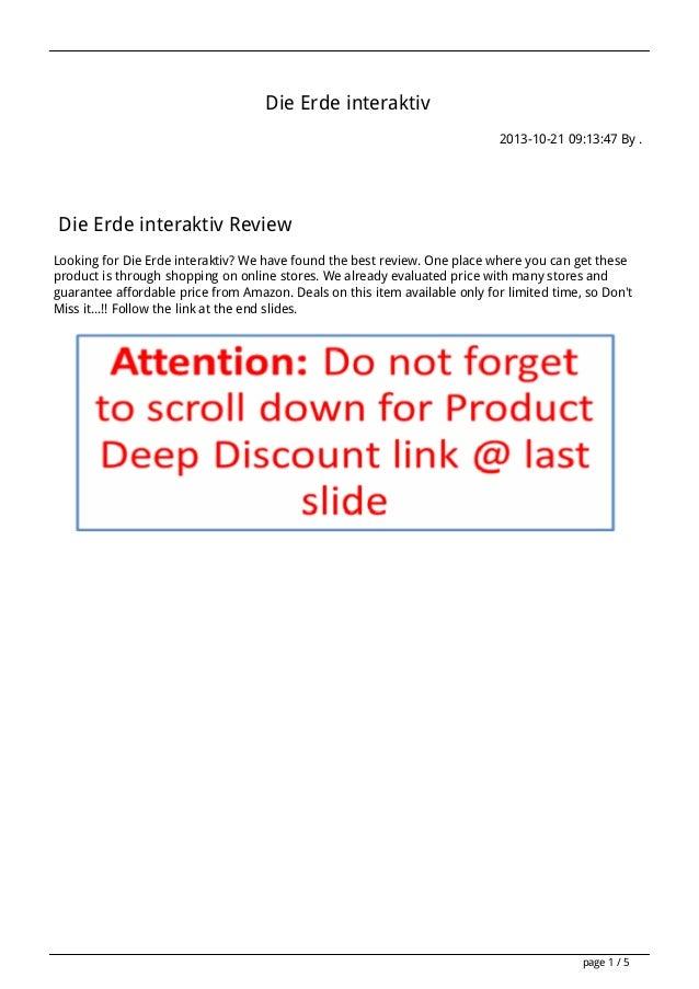 Die Erde interaktiv 2013-10-21 09:13:47 By .  Die Erde interaktiv Review Looking for Die Erde interaktiv? We have found th...