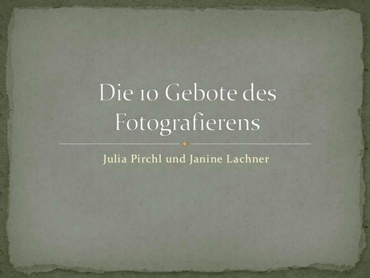 Julia Pirchl und Janine Lachner