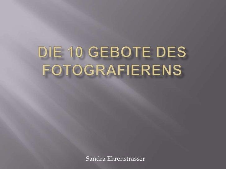 Sandra Ehrenstrasser
