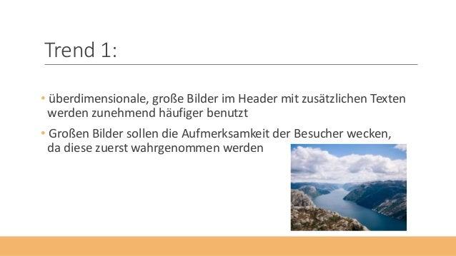 Die 5 Webdesign-Trends Slide 2