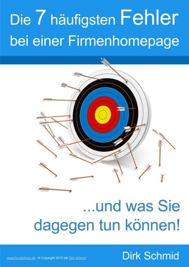 www.founduhere.de - © Copyright 2015 bei Dirk Schmid