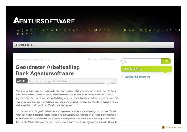 """← Was Agentursoftware Alles Kann Die """"Alles-im-Griff"""" Software →Geschrieben vonGeschrieben von agentursoftwareagentursoftw..."""