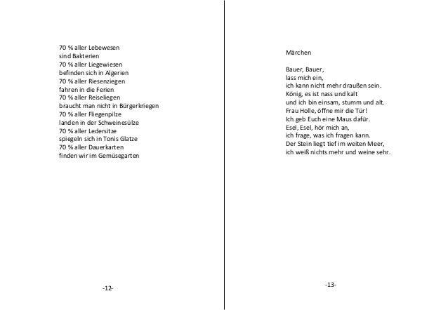Die Blauen Gedichte