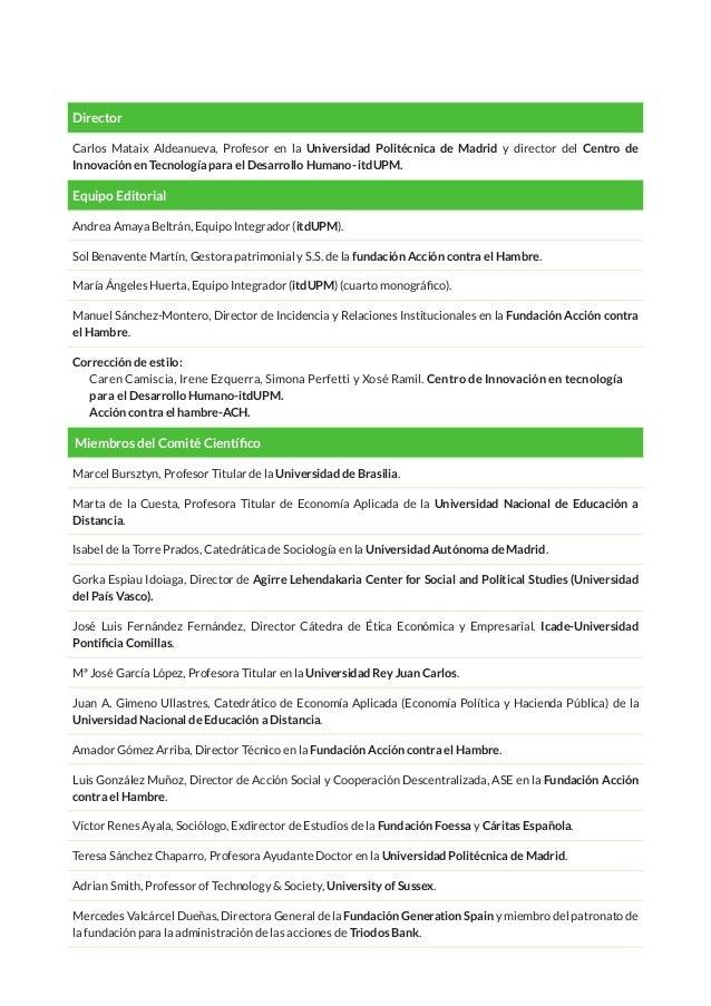 ÍNDICE Introducción del número Celia Fernández Aller, Jesús Salgado y David Pastor-Escuredo 9 PANORAMA 13 Ética y Derecho ...