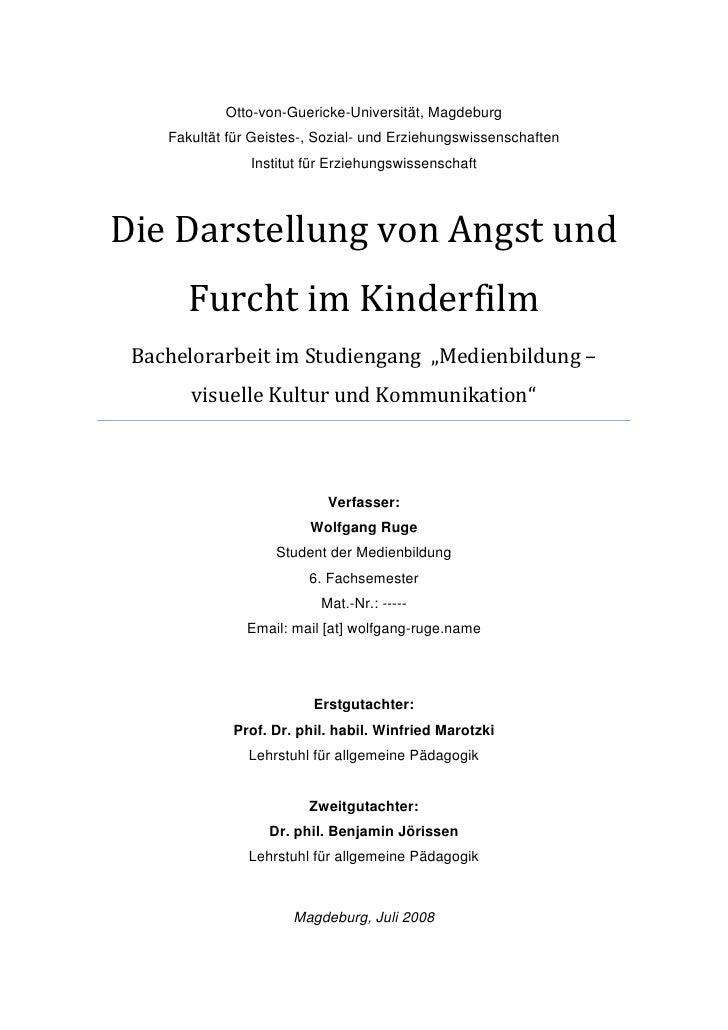 Otto-von-Guericke-Universität, Magdeburg     Fakultät für Geistes-, Sozial- und Erziehungswissenschaften                 I...
