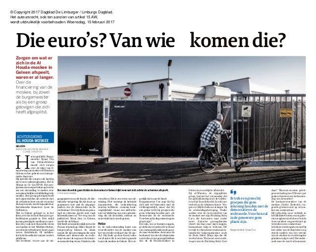 © Copyright 2017 Dagblad De Limburger / Limburgs Dagblad. Het auteursrecht, ook ten aanzien van artikel 15 AW, wordt uitdr...